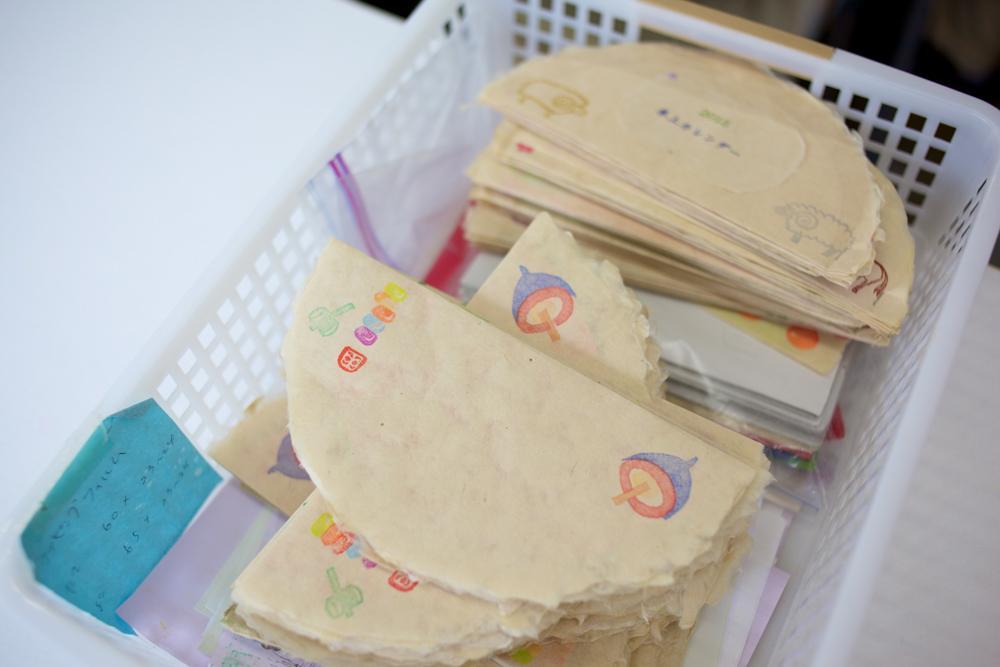 和紙で作った商品の写真