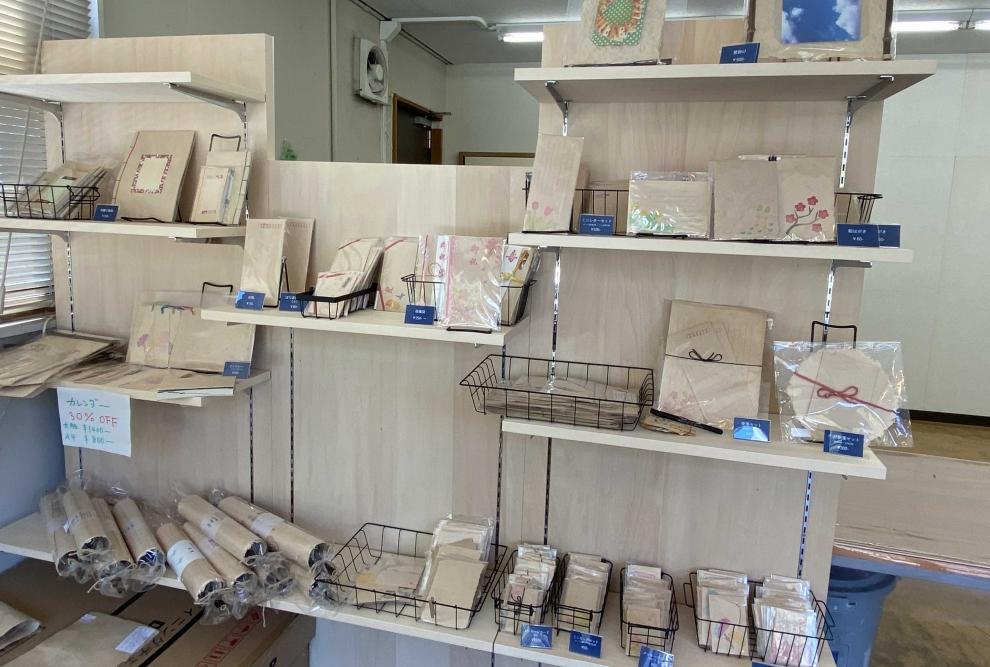 和紙製品の数々